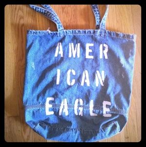 Amerivan Eagle Denim Tote